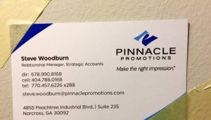 Please tape my business card to your wall!
